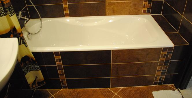 Экран для ванной своими руками из пластиковых панелей